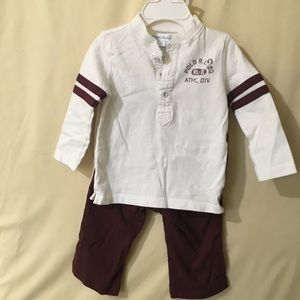 Ralph Lauren boys two piece outfit.